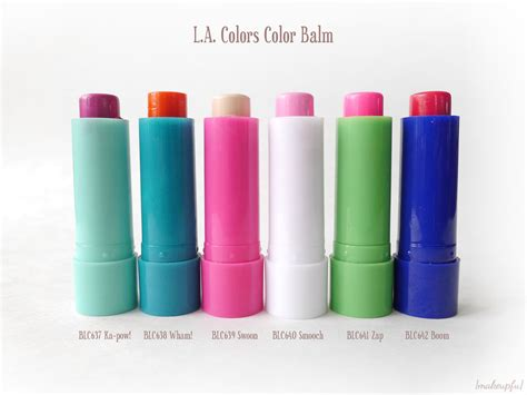 color zap review l a colors color balm review makeupfu