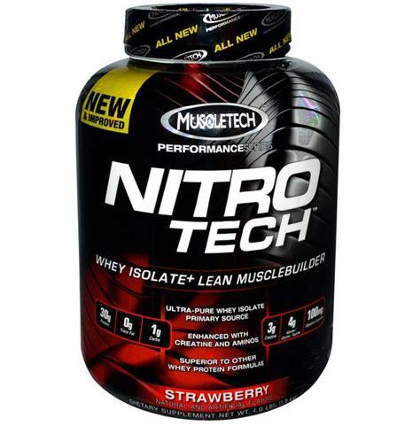 Gainer Terbaik Dari Muscletech Nutrition jual suplemen nitrotech performance series