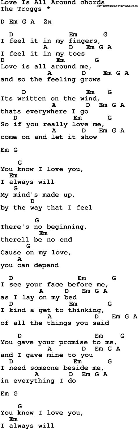 All For Love Guitar Chords