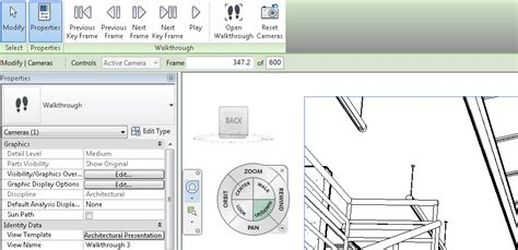 revit walkthrough tutorial video revit walkthrough going up stairs bimopedia