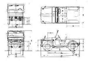 Suzuki Samurai Dimensions Suzukijeepinfo Drawing Model