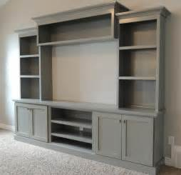 Make Your Own Sliding Barn Door Family Room With Large Painted Entertainment Center Bing