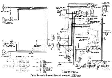 early bronco alternator wiring diagram early bronco fuse