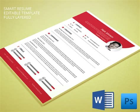 resume template 92 free word excel pdf psd format free premium templates