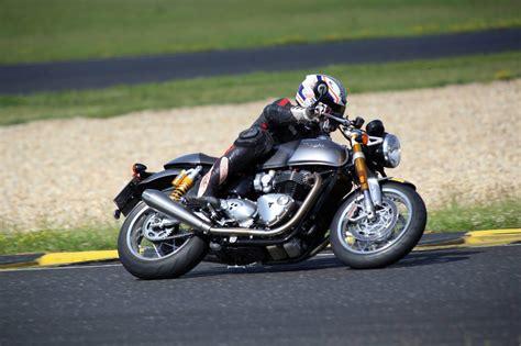 Rennstrecke Motorrad Verkaufen by Triumph Thruxton R Rennstrecke Motorrad Fotos Motorrad