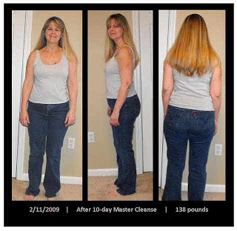 10 Day Detox Before And After by Simply Rawesome November 2009