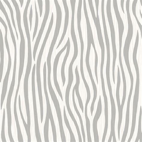 Striped Bathroom Wallpaper by Muriva Urban Safari Zebra Print Animal Skin Fabric