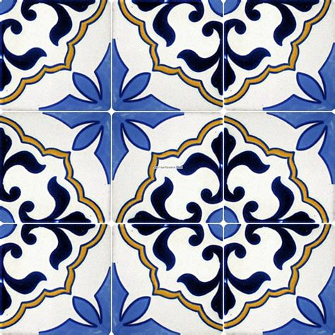 pattern tile images mexican tile designs stencil mexican talavera frost