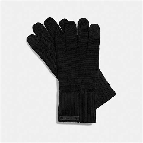 knit tech coach knit tech glove