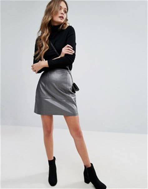 leather skirts s leather suede skirts asos