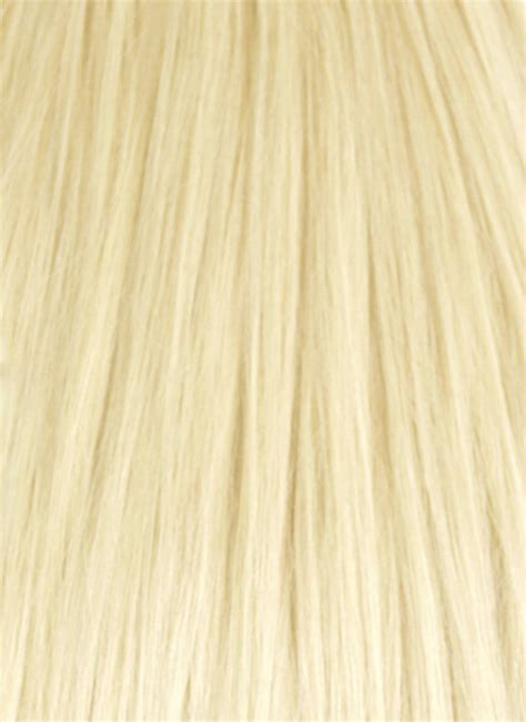 chic fashion hair styling clip 613 bleach blonde clip in hair extensions human remy