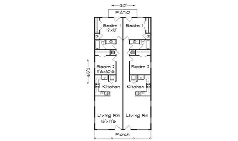 narrow lot duplex floor plans 14 narrow lot duplex house plans ideas house plans 21345