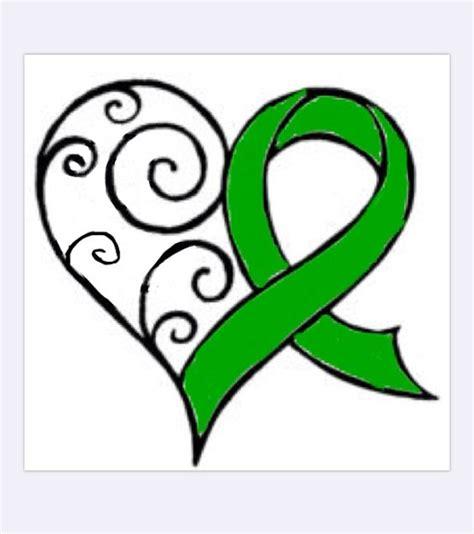 Organ Donation Ribbon Clip organ transplant ribbon clip cliparts
