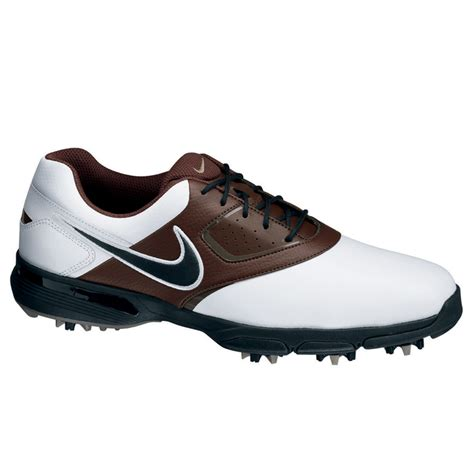 nike 2013 heritage golf shoes mens white black chocolate
