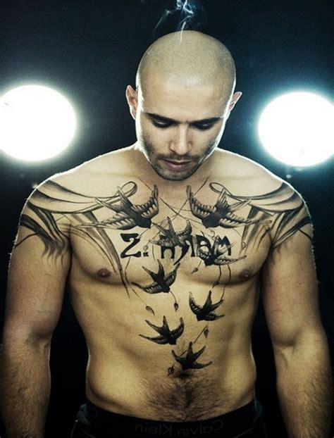 mens small chest tattoos 10 unique chest ideas for guys