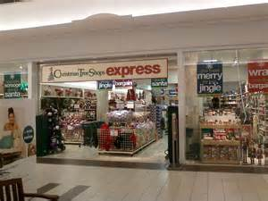 christmas tree shops express neshaminy mall located in