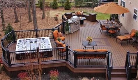 32 wonderful deck designs to make your home extremely