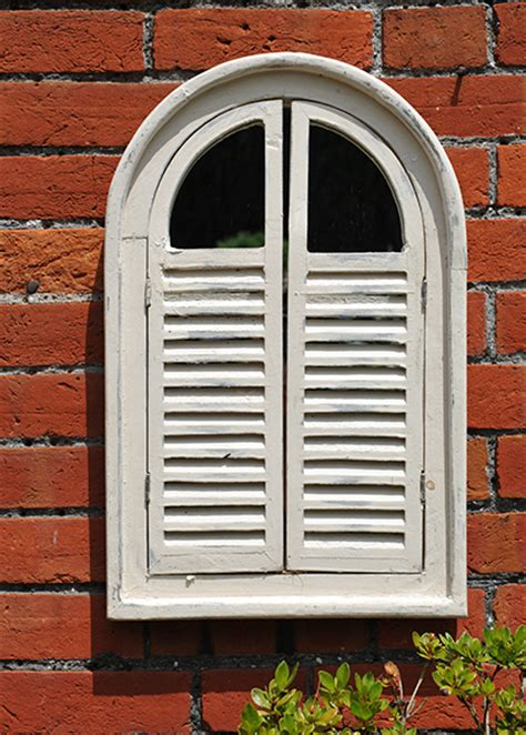 Buy Garden Wall Mirror With Shutters Garden Wall Mirrors