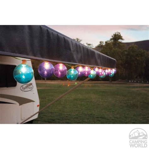 motorhome awning lights rv patio lights the ultimate rv patio motorhome magazine