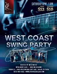 west coast swing conventions studio 22 dallas special events