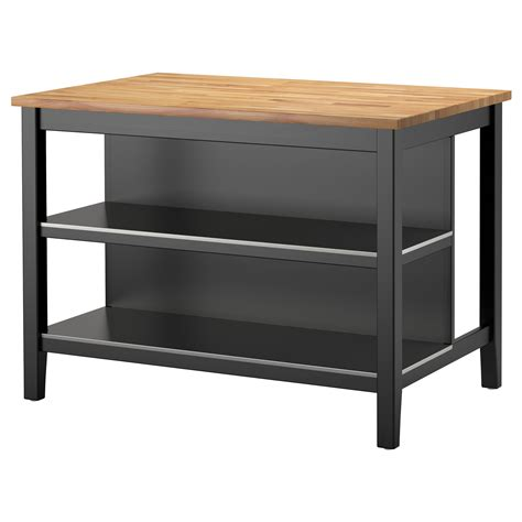 free standing kitchen islands canada stenstorp kitchen island black brown oak 126x79 cm ikea
