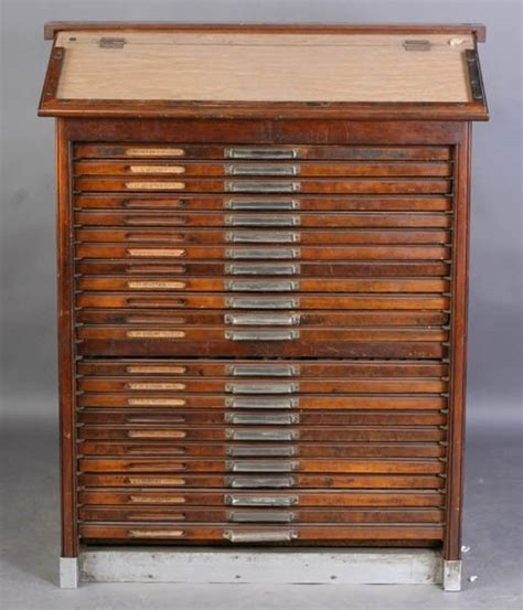 cabinet for printer vintage printers cabinet printers trays pinterest