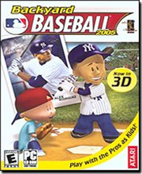 Backyard Baseball 2001 Iso Backyard Baseball