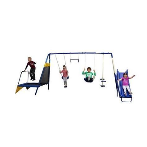kmart swing sets for kids 6 station swing set kmart 199 back yard to do