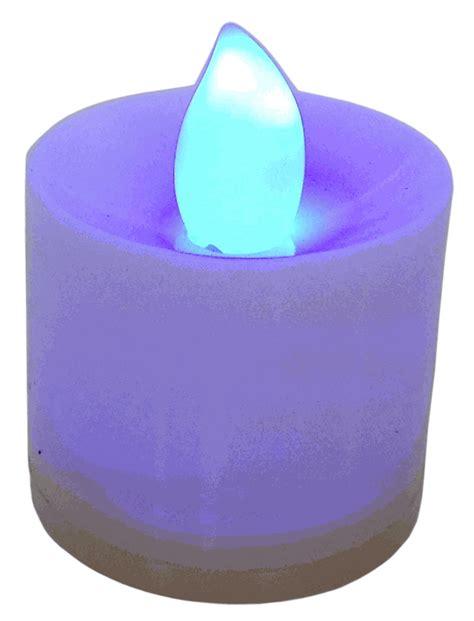 large tea light candles large flameless led tea light candles color changing 24pcs