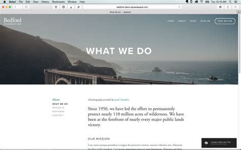 How To Pick A Squarespace Template Hue Tone Creative Squarespace Templates With Side Navigation