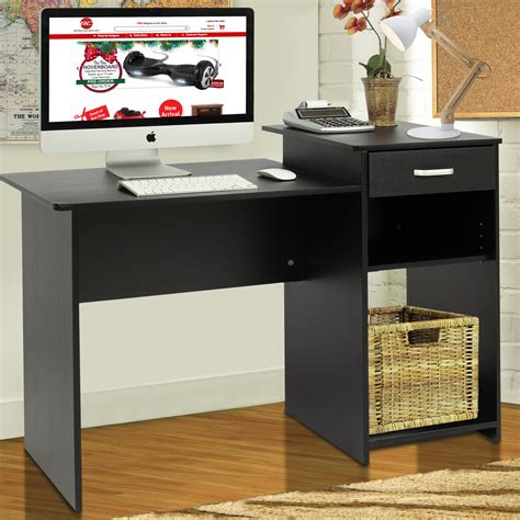 laptop workstation desk student computer desk home office wood laptop table study