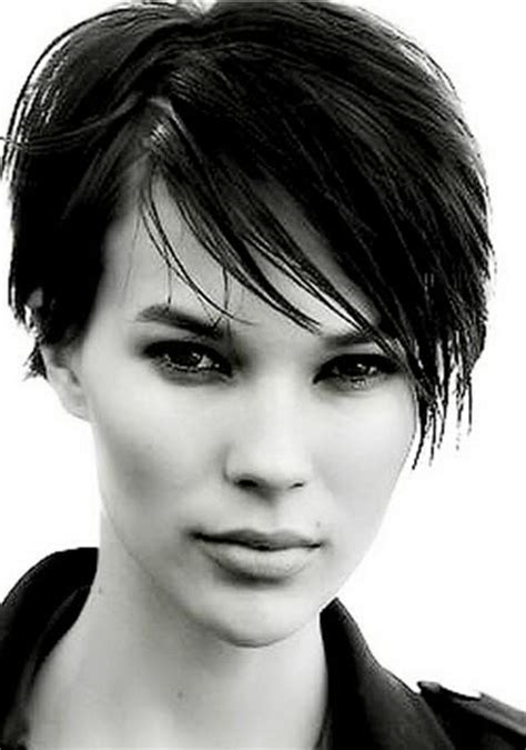 the wet look for black short hair short sassy hairstyles