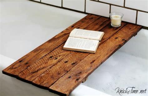 diy wood bathtub pallet wood bathtub table knick of time