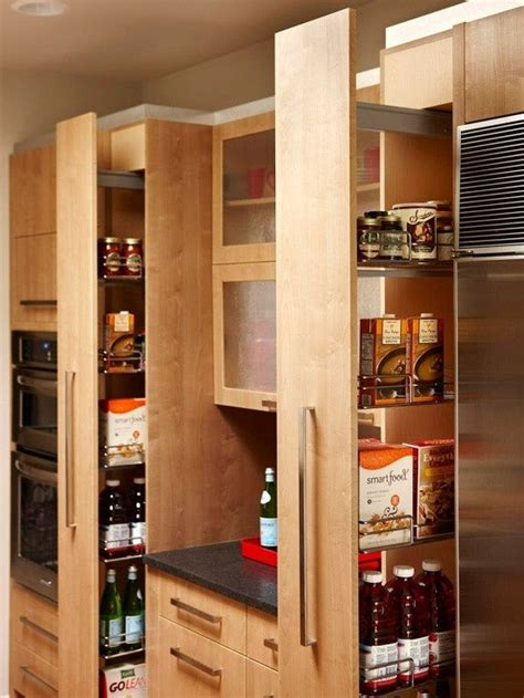 roll out pantry pull out pantry kitchen pinterest