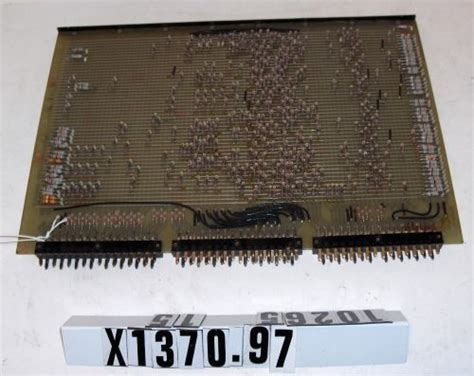 what is diode rom diode matrix rom read only memory x1370 97 computer history museum