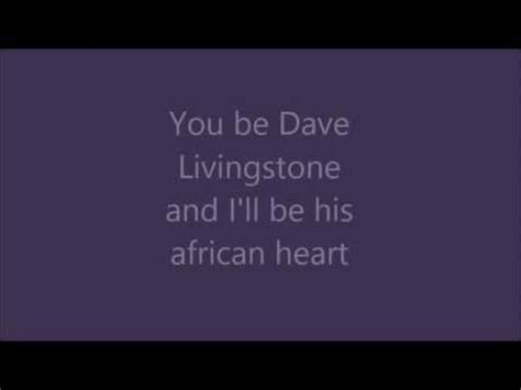 blue song at the end david livingstone by jon bryant lyrics rookie blue