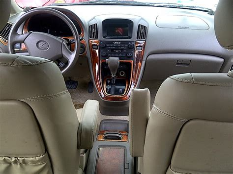 airbag deployment 2001 lexus rx engine control tokunbo 2001 lexus rx300 at a give away price n1 250 000 only autos nigeria