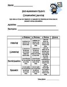 Self Assessment Essay Rubric by Cooperative Cooperative Learning Self Assessment Rubric Aie Board Work