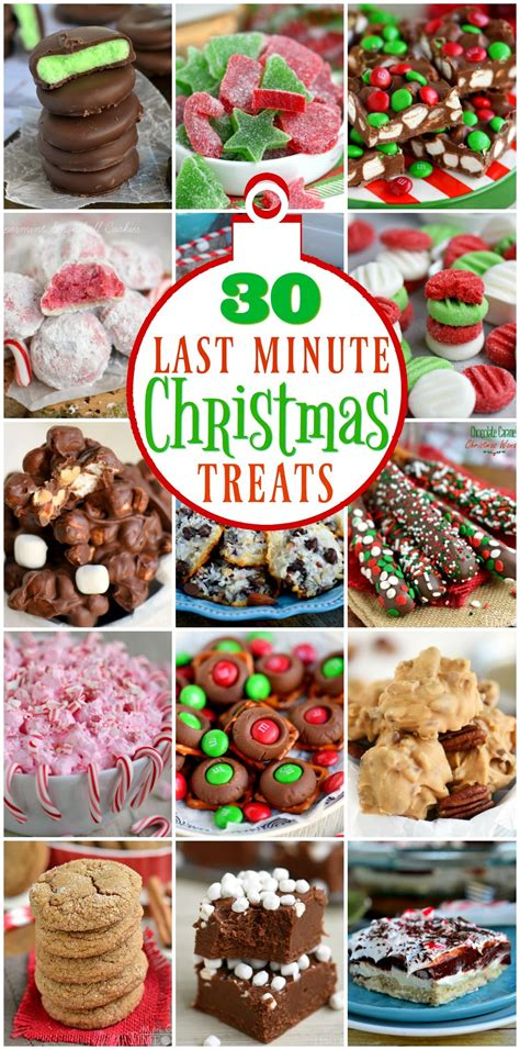 christmas time snacks 30 last minute treats that you can make just in time for lots of great