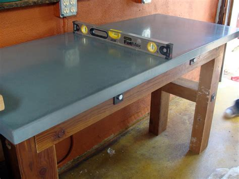 Level Concrete Countertops by Concrete Countertop For A Workbench How Tos Diy