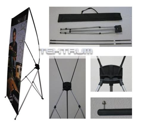 Tripod X Banner tektrum large 32 x 71 inches tripod x banner stand for trade show store display business