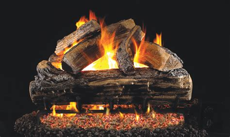 Gas Fireplace Logs Houston by R H Peterson Gas Logs Real Fyre Split Oak Peterson
