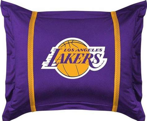 lakers curtains los angeles lakers pillow sham 163 ak rs 4 163 if
