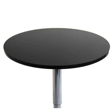 meet chrome bar table black modern in designs