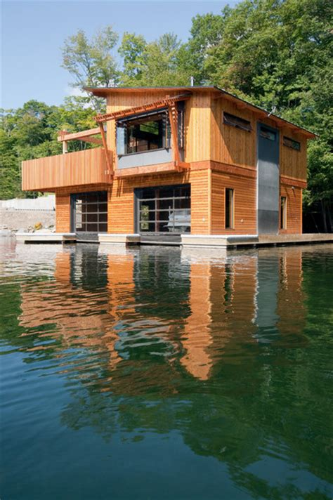 muskoka boat house muskoka lakes boathouse rustic exterior other metro