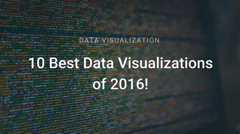 best data visualisation 10 best data visualizations of 2016 elections olympics