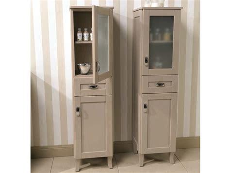 mobili a colonna per bagno mobile bagno a colonna con ante natura 43 mobile bagno