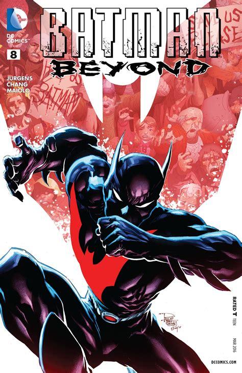 Batman Beyond Vol 2 Rebirth batman beyond vol 5 8 dc database fandom powered by wikia