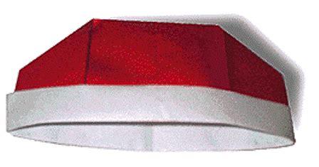 origami membuat topi cina topi koki  topi pesta