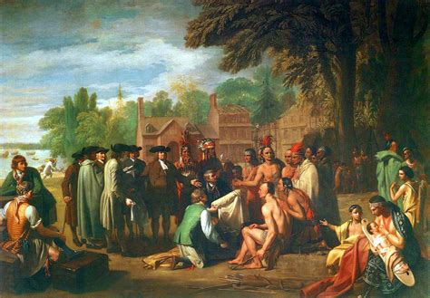 white servitude in maryland 1634 1820 classic reprint books file treaty of penn with indians by benjamin west jpg